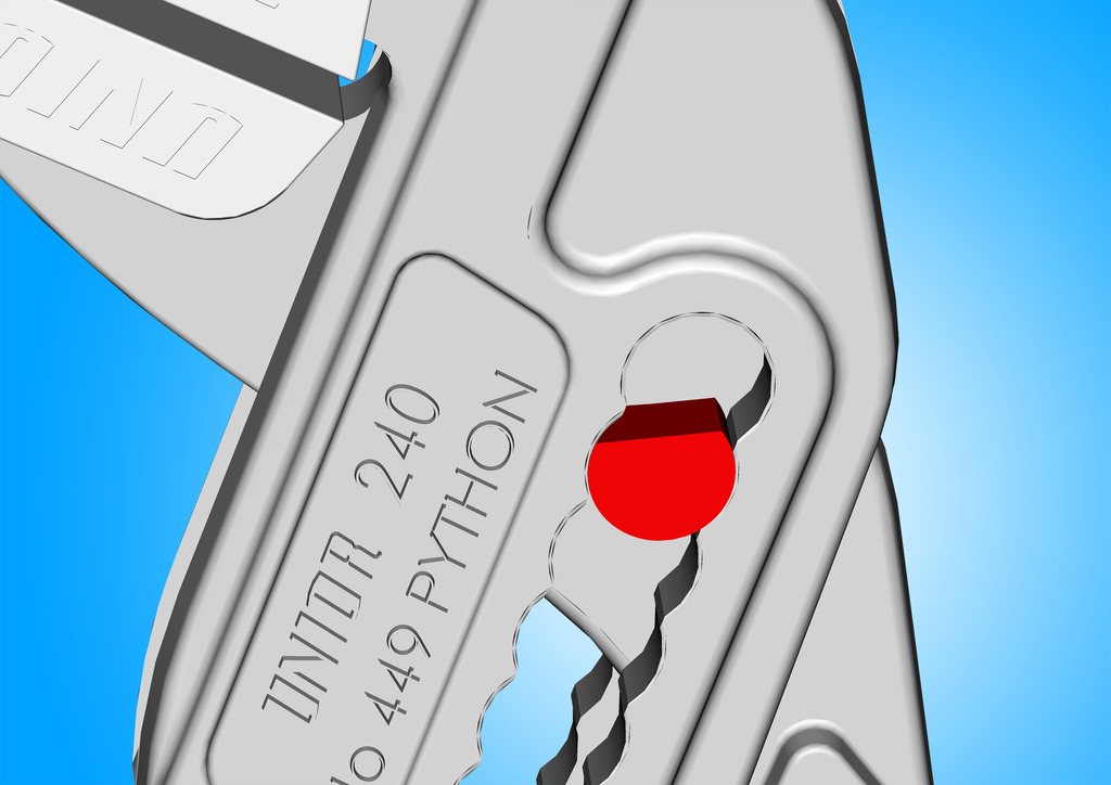 Regulation of jaws; pliers are available in two dimensions