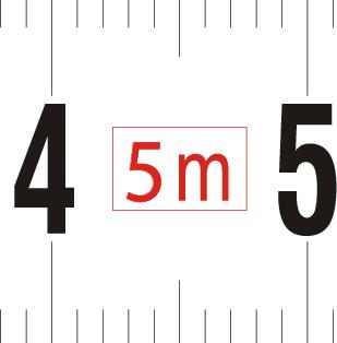 Length of tape